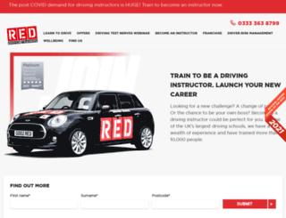 redinstructortraining.com screenshot