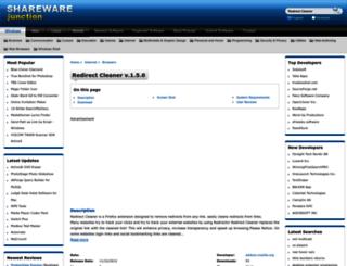 redirect-cleaner.sharewarejunction.com screenshot