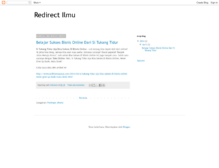 redirectilmu.blogspot.com screenshot