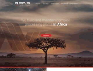 redis.co.za screenshot
