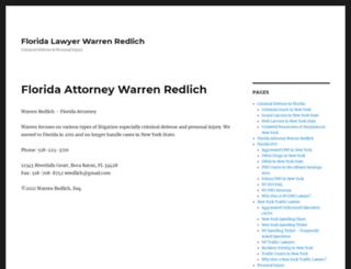 redlichlaw.com screenshot