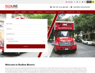 redlinemovers.com screenshot