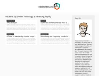 redlineper4mance.com screenshot