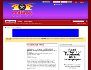 redlinesonline.com screenshot