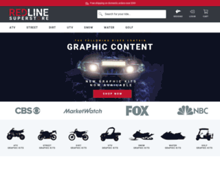 redlinesuperstore.com screenshot