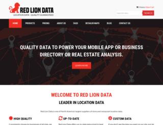 redliondata.com screenshot