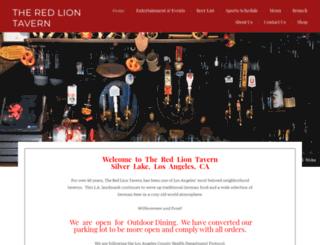 redliontavern.net screenshot
