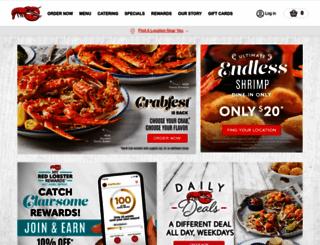 redlobster.com screenshot