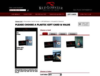 redlobsterusstore.wgiftcard.com screenshot