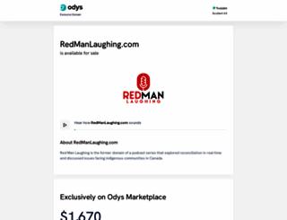 redmanlaughing.com screenshot