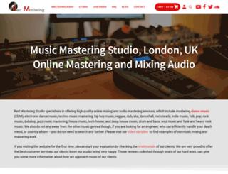 redmastering.co.uk screenshot