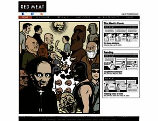 redmeat.com screenshot