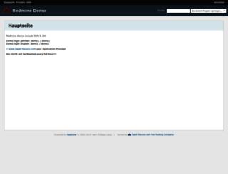 redminedemo.saas-secure.com screenshot