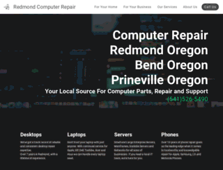 redmondcomputerrepair.com screenshot