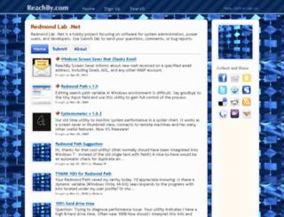 redmondlab.reachby.com screenshot