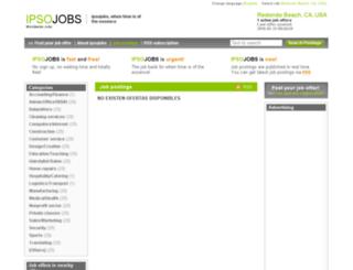 redondobeach.ipsojobs.com screenshot
