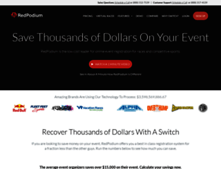 redpodium.com screenshot