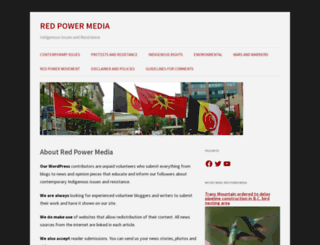 redpowermedia.wordpress.com screenshot