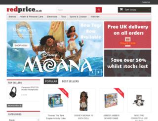 redprice.co.uk screenshot