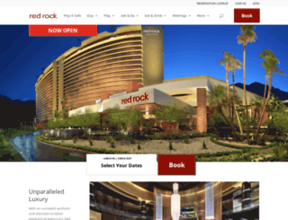 redrocklasvegas.com screenshot