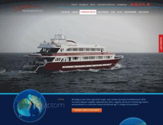 redseaboats.hu screenshot