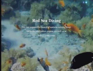 redseadiving.com screenshot