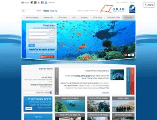 redseasports.co.il screenshot