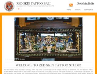 redskin-tattoo.com screenshot