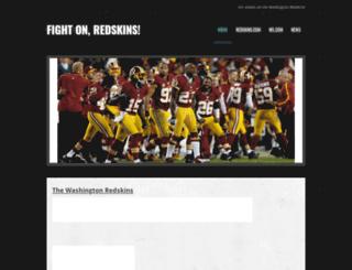 redskinsstrong.weebly.com screenshot