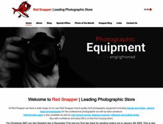 redsnapperuk.com screenshot