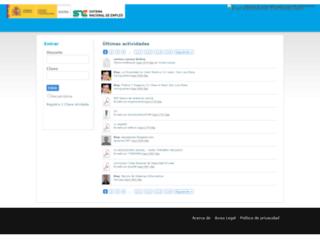 redsocialeducativa.euroinnova.es screenshot