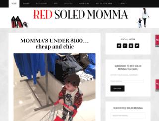 redsoledmomma.com screenshot