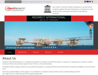 redspectinternational.com screenshot