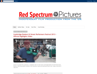 redspectrumpictures.blogspot.com screenshot