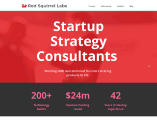 redsquirrellabs.com screenshot