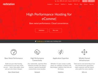 redstation.co.uk screenshot