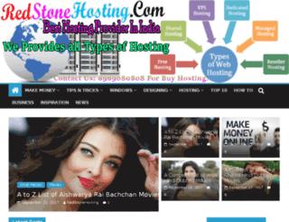 redstonehosting.org screenshot