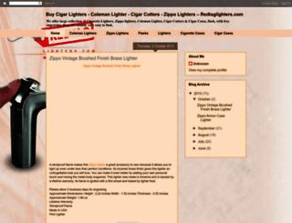 redtaglighters.blogspot.in screenshot