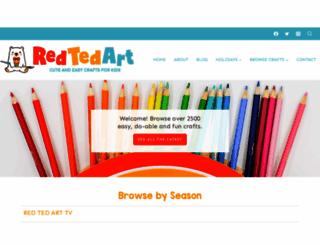 redtedart.com screenshot