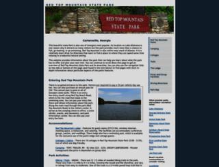 redtopmountainstatepark.org screenshot