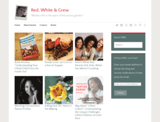 redwhiteandgrew.com screenshot