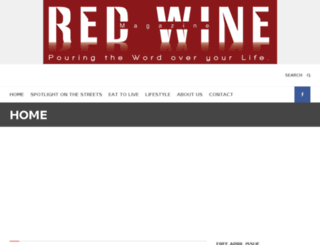 redwinemag.com screenshot