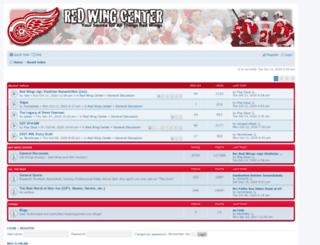 redwingcenter.com screenshot