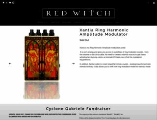 redwitchpedals.com screenshot