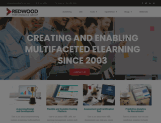 redwoodlearning.com screenshot
