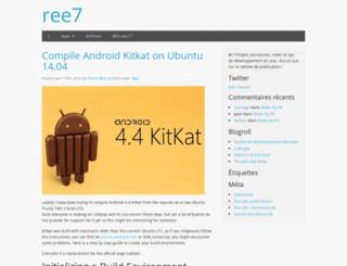 ree7.fr screenshot