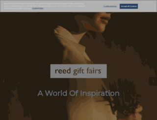reedgiftfairs.com.au screenshot
