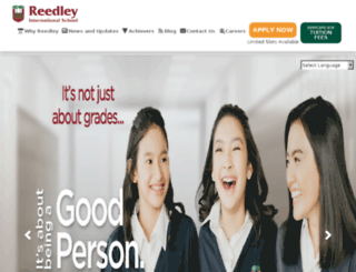 reedleyschool.com screenshot