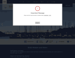 reedschools.org screenshot
