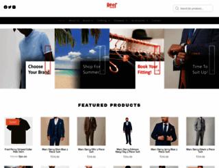 reefmenswear.co.uk screenshot